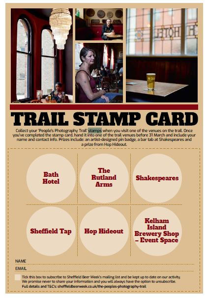 Stamp Trail Card