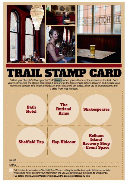 Stamp Trail Card